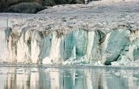 Норвежский ледник Остфонна «похудел» на 50 метров