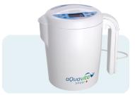 Ионизатор воды aQuavita Silver. Прибор имеет дополнительную функцию приготовления серебряной воды.