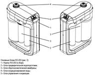 Ūdens attīrītājs Aquaphor. Фильтр для воды Аквафор DWM-203